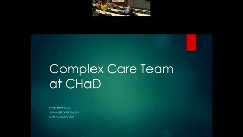 Thumbnail for entry An Integrated Complex Care Model – ICU to Classrooms