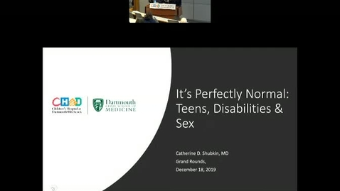 Thumbnail for entry It's Perfectly Normal: Teens, Disability, & Sex