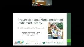 Thumbnail for entry Prevention and Management of Pediatric Obesity