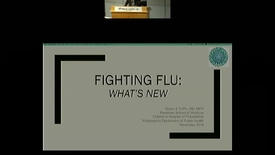 Thumbnail for entry Fighting Flu: what's new?
