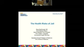 Thumbnail for entry Health Risks of Jail
