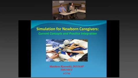 Thumbnail for entry Neonatal Simulation and Debriefing