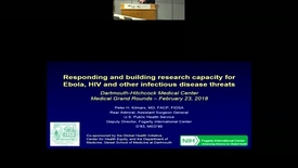 Thumbnail for entry Responding and Building Research Capacity for Ebola, HIV and Other Infectious Disease Threats