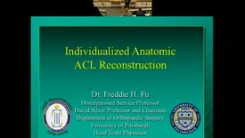 Thumbnail for entry Individualized Anatomic ACL Reconstruction
