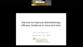 Thumbnail for entry Exercise to Improve Chemotherapy Efficacy: Evidence in Mice and Men