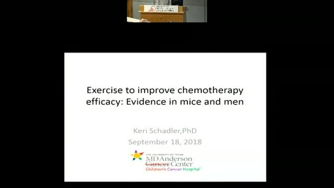 Exercise to Improve Chemotherapy Efficacy: Evidence in Mice and Men