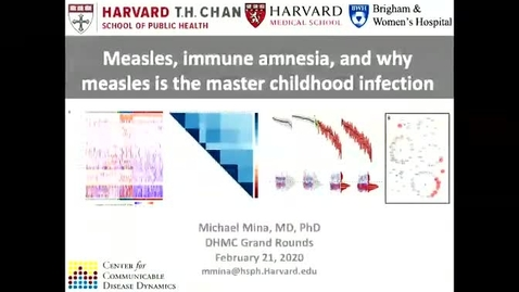 Thumbnail for entry Why Measles is the Master Childhood Infection