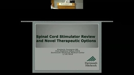 Thumbnail for entry Review of SCS and Update on New Technology Including High Frequency Stimulation and DRG Stimulation