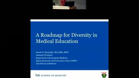 Thumbnail for entry Road Map For Diversity in Medical Ed