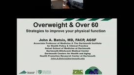 Thumbnail for entry Overweight & Over 60: A Guide to Health and Wellness