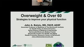 Thumbnail for entry Overweight and Over 60! A Weighty Concern