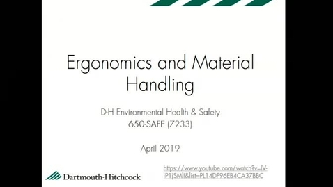 Thumbnail for entry Materials Handling