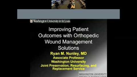 Thumbnail for entry Strategies to Optimize Wound Management in the Orthopedic Patient