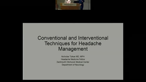 Convention and Interventional Management of Refractory Headaches