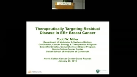Thumbnail for entry Therapeutically Targeting Residual Disease in ER+ Breast Cancer