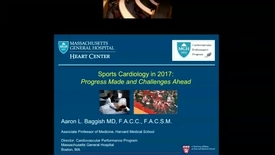Thumbnail for entry Sports Cardiology:A 2017 Update for the Cardiovascular Specialist