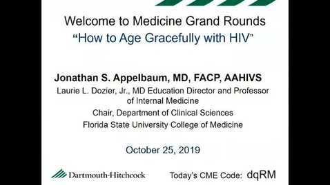 Thumbnail for entry How to Age Gracefully with HIV