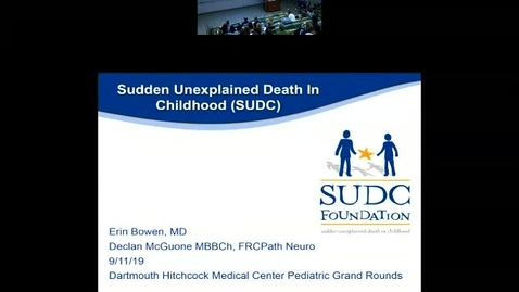 Thumbnail for entry Sudden Unexplained Death in Childhood