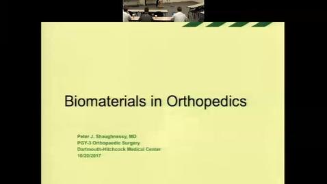 Biomaterials in Orthopaedics