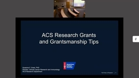 Thumbnail for entry Cancer Research Funding Workshop
