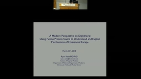 Thumbnail for entry A Modern Perspective on Diphtheria: Using Fusion Protein Toxins to Understand and Exploit Mechanisms of Endosomal Escape