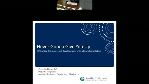 Thumbnail for entry Never Gonna Give You up: Why deimplementation is not just implementation in reverse