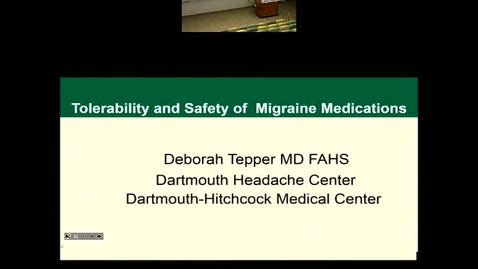 The Tolerability and Safety of Select Migraine Medications