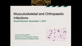 Thumbnail for entry MSK/Orthopaedic Infections
