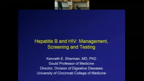 Thumbnail for entry Hep B and HIV: Management, Screening & Testing