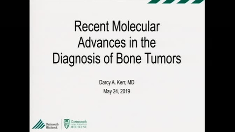 Recent Molecular Advances in the Diagnosis of Bone Tumors