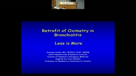 Thumbnail for entry The oximetry in Bronchiolitis: Less is More