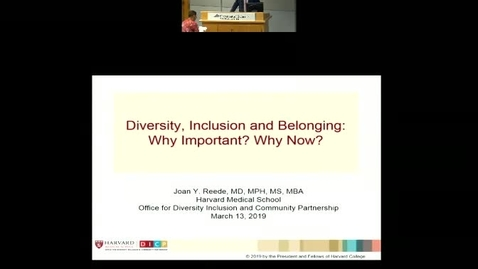 Diversity, Inclusion and Belonging: Why important? Why Now?