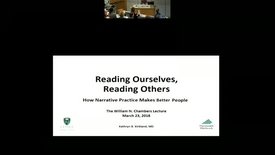 Thumbnail for entry Reading Ourselves, Reading Others: How Narrative Practice Makes Better Doctors