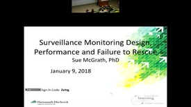 Thumbnail for entry Surveillance Monitoring and Failure to Rescue: Design History, Current Innovations and Future Opportunities