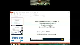 Thumbnail for entry Unit Leadership and the Climate for Evidence-Based Practice Implementation in Acute Care