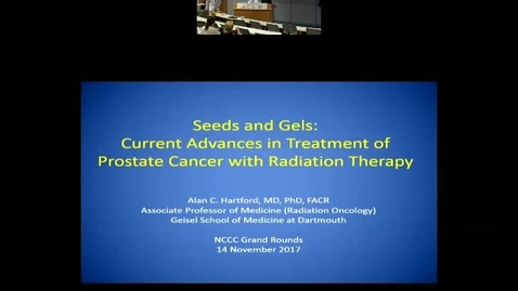 Seeds and Gels:  Current Advances in Treatment of Prostate Cancer with Radiation Therapy