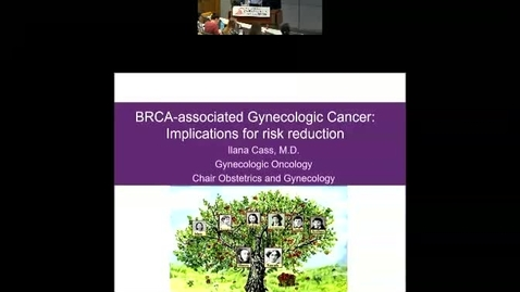 Thumbnail for entry BRCA Related Gynecologic Cancers and Insight into Early Steps of Pelvic Serous Carcinogenesis