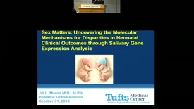 Thumbnail for entry Sex Matters: Uncovering the Molecular Mechanisms for Disparities in Neonatal Clinical Outcomes through Salivary Gene Expression Analysis.