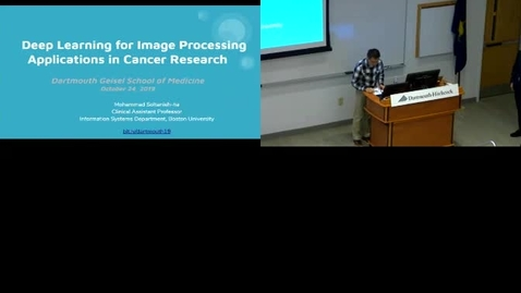 Thumbnail for entry Deep Learning for Image Processing Applications in Cancer Research