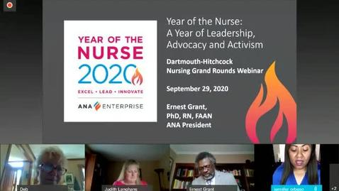 Thumbnail for entry Year of the Nurse: A Year of Leadership, Advocacy and Activism9