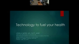 Thumbnail for entry Using Technology to Fuel Wellness