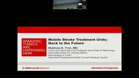 Thumbnail for entry Mobile Stroke Units – Back to the Future