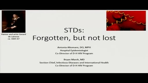 Thumbnail for entry STDs: Forgotten But Not Lost
