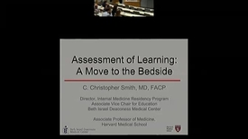 Thumbnail for entry Assessment of Learning: A Move to the Bedside