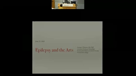 Epilepsy and the Arts