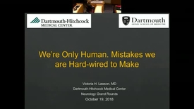 Thumbnail for entry We're Only Human. Mistakes we are Hard-wired to Make
