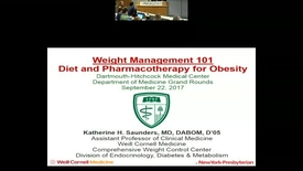 Thumbnail for entry Weight Management 101: Diet and Pharmacotherapy for Obesity