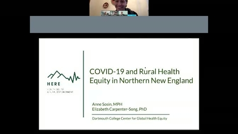 Thumbnail for entry COVID-19 and Rural Health Equity: Opportunities and Challenges in Northern New England.