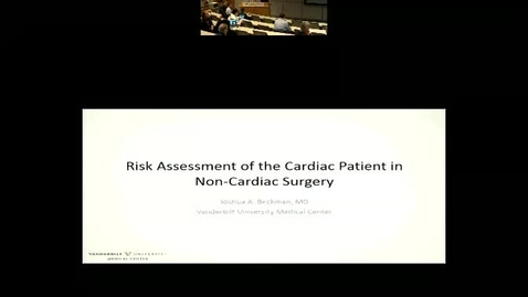 Perioperative management of the cardiovascular patient in non-cardiac surgery