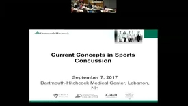 Thumbnail for entry Current Concepts in Sports Concussion
